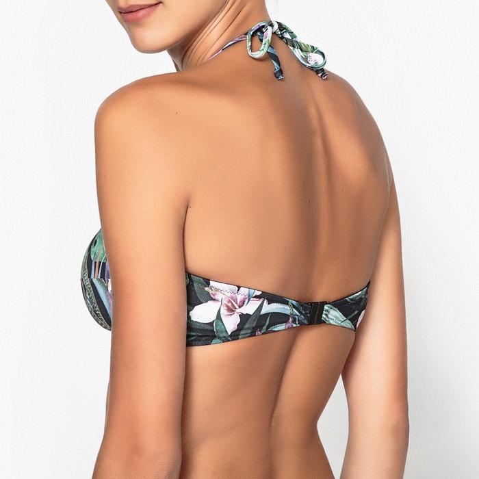 banda La Sujetador de Redoute estampado tipo Collections bikini pOOAYwFx