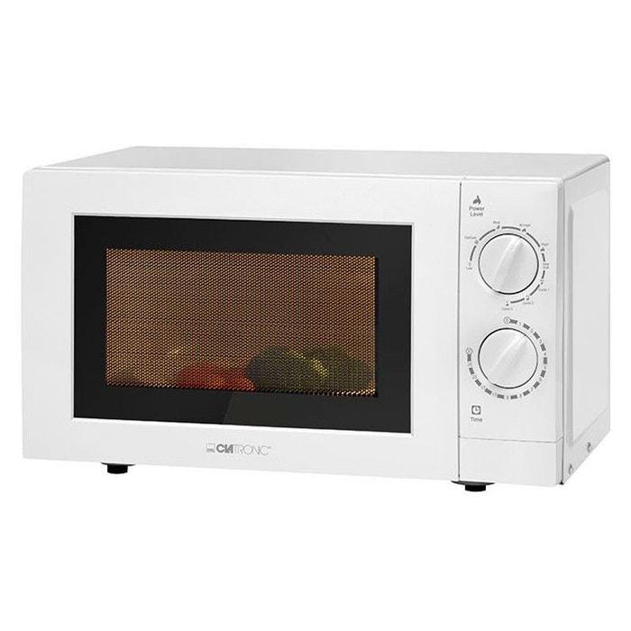 micro ondes avec grill clatronic mwg 786 20l 700w 900w blanc couleur unique clatronic la redoute. Black Bedroom Furniture Sets. Home Design Ideas