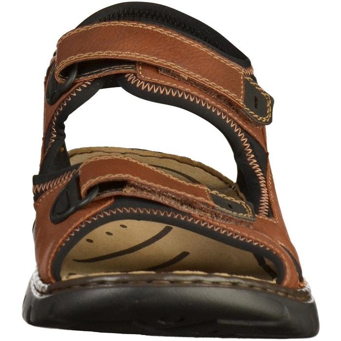 Sandales marron Rieker