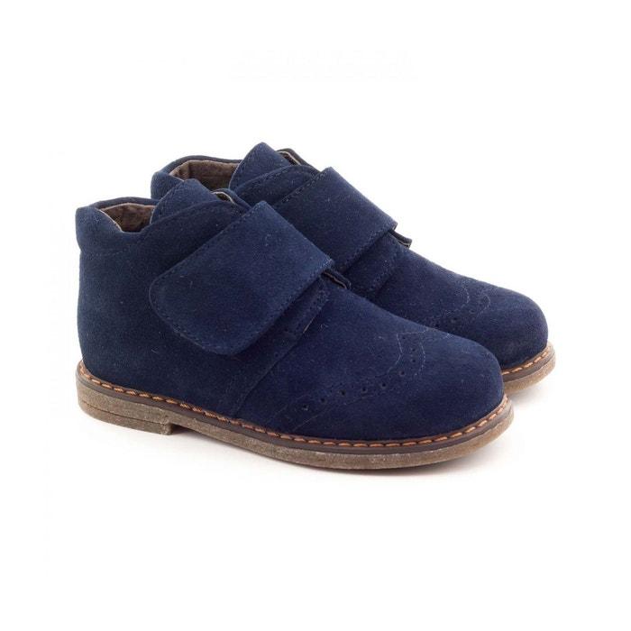 Boni Mini Albert - Chaussures Garçon cuir scratch BONI CLASSIC SHOES (1) ...