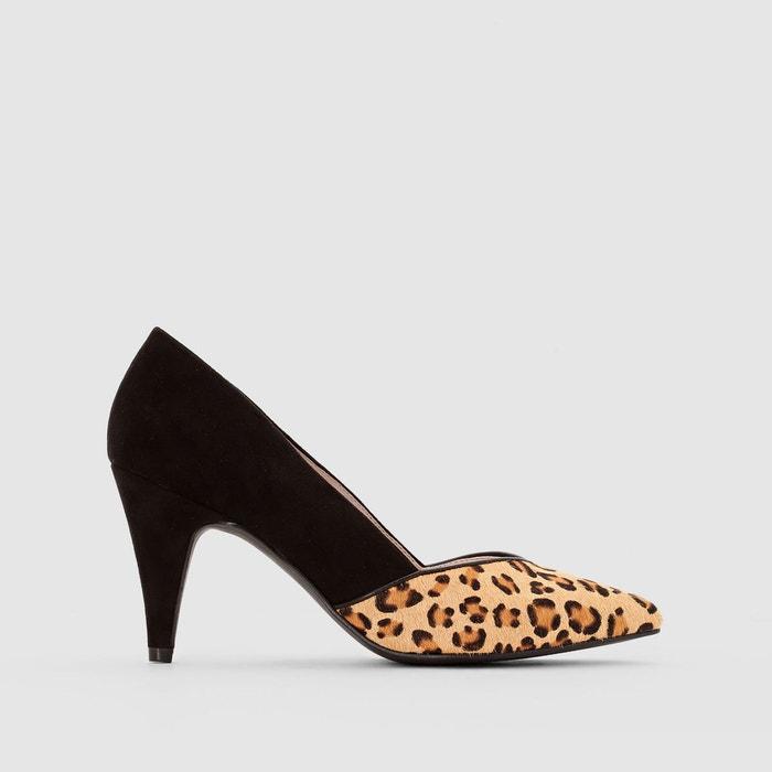 Escarpins détail léopard La Redoute Collections