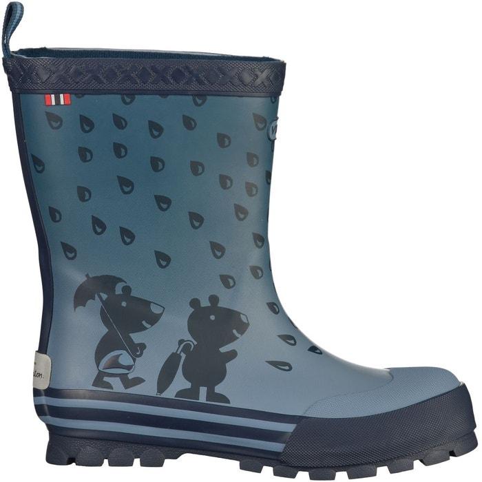 Viking Footwear Kjenning GTX - Chaussures Enfant - gris/bleu 29 2016 Bottes loisir METyqjn