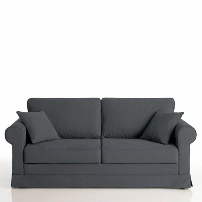 Image Canapé lit, couchage express, 100% coton demi natté, Yukata La Redoute Interieurs