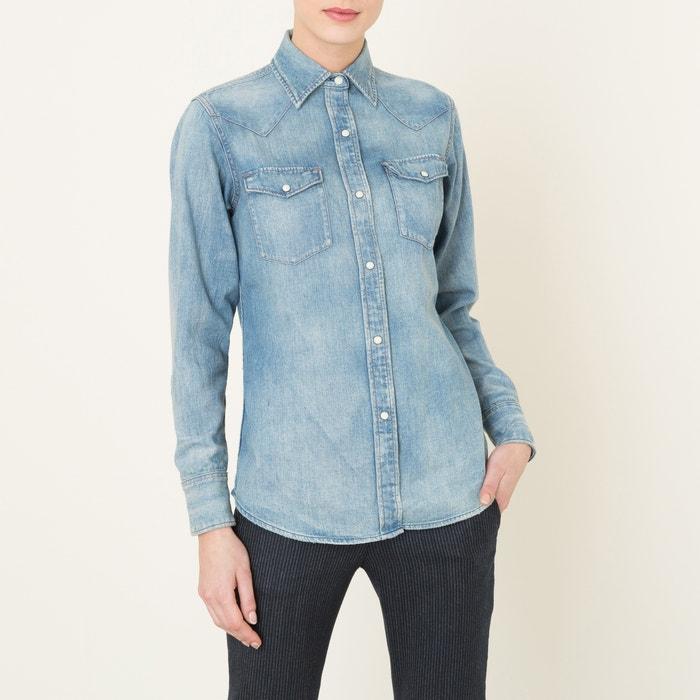 afbeelding Western jeanshemd DENIM and SUPPLY RALPH LAUREN