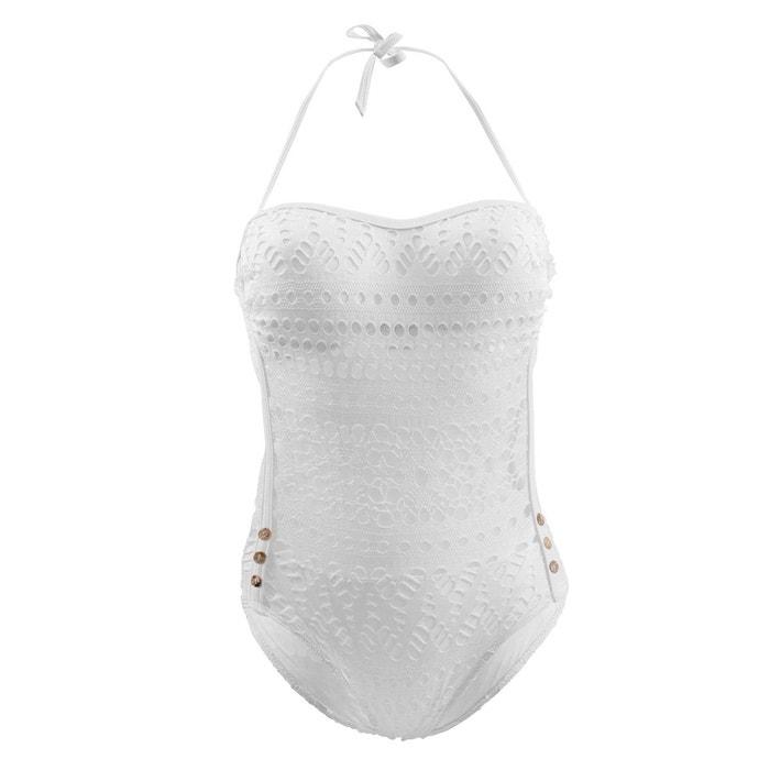 Maillot de bain 1 Pièce Essential Beachvibes Blanc CARLA BIKINI