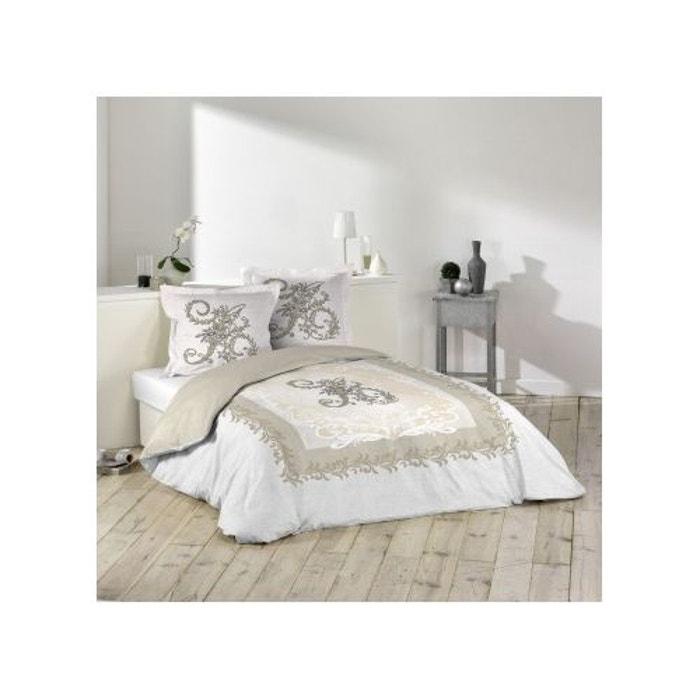 parure de lit antoinette 260x240 sans douceur d 39 int rieur la redoute. Black Bedroom Furniture Sets. Home Design Ideas