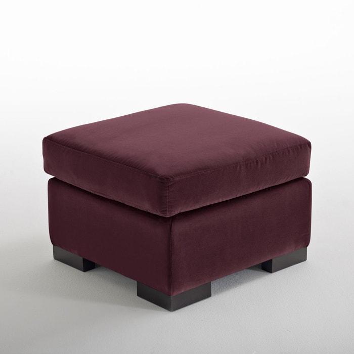 pouf velours odessa confort bultex la redoute interieurs. Black Bedroom Furniture Sets. Home Design Ideas