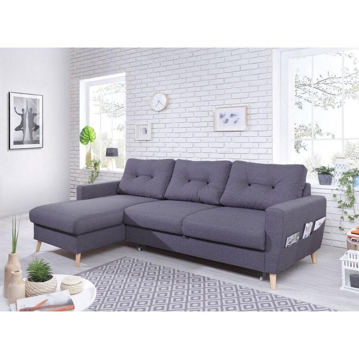 canap d 39 angle gauche convertible oslo bobochic la redoute. Black Bedroom Furniture Sets. Home Design Ideas