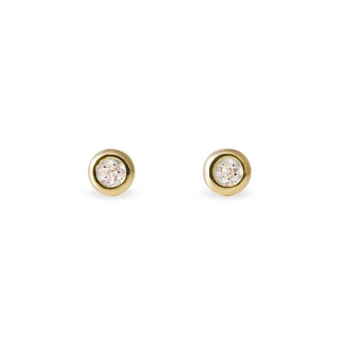Boucles d'oreilles or jaune Histoire D'or | La Redoute Livraison Gratuite 2018 Nouveau Réel En Ligne JPQaOGcRM