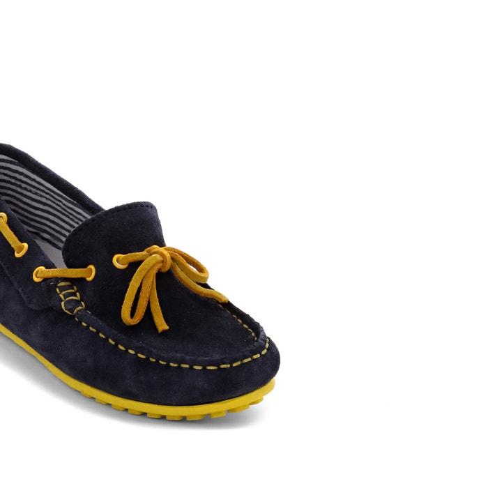 Sapatos de vela em pele (croute), do 26 ao 40 La Redoute