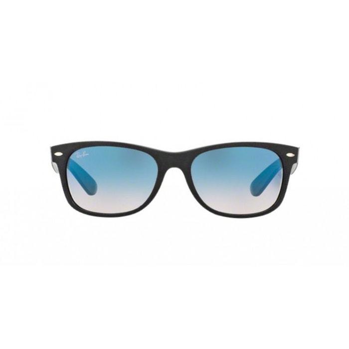 206590d5a4 Lunettes de soleil pour homme ray ban bleu rb 2132 new wayfarer 63083f 55/18  bleu marine Ray-Ban | La Redoute