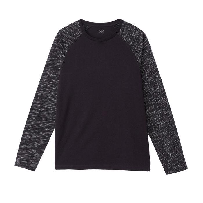 La estilo Camiseta larga Redoute cuello de redondo Collections con marinero manga T4Tfzqr