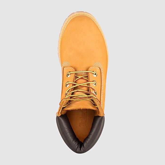Boots cuir miel Timberland