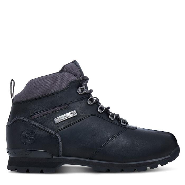 Boots cuir splitrock ca1hvq noir Timberland