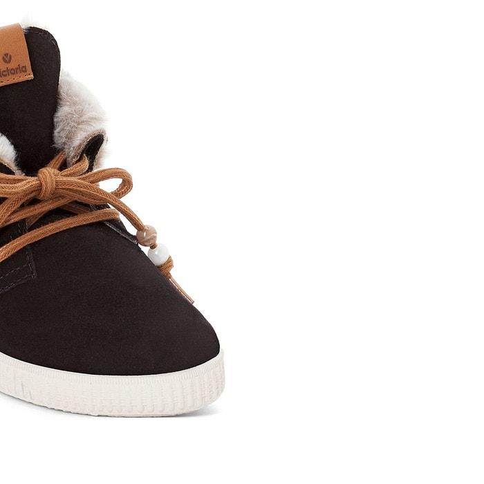 Baskets montantes bota cuello noir Victoria