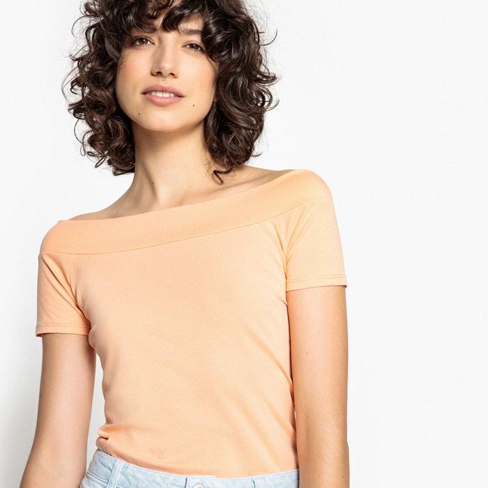 Plain Cold Shoulder T-Shirt  La Redoute Collections image 0