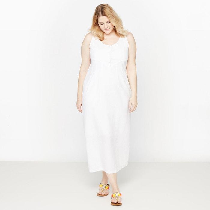 Robe longue lin/coton CASTALUNA