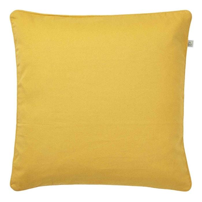 Housse de coussin java 70x70 cm jaune yellow dutch decor - Housse de coussin 70x70 ...