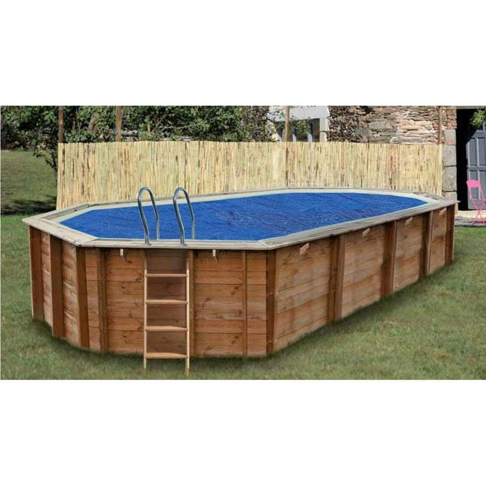 B che bulles pour piscine octogonale 6 37 x 4 12 m for Piscine bois occasion