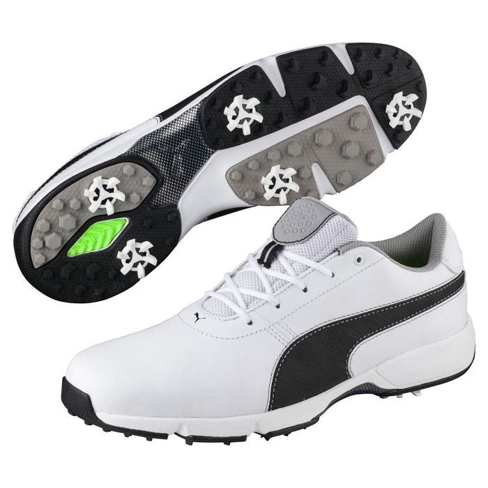 on sale cf1a4 4ec0a Chaussure de golf ignite drive pour homme white-puma black-drizzle Puma La  Redoute GH8HUA1Z - reborncommunity.fr