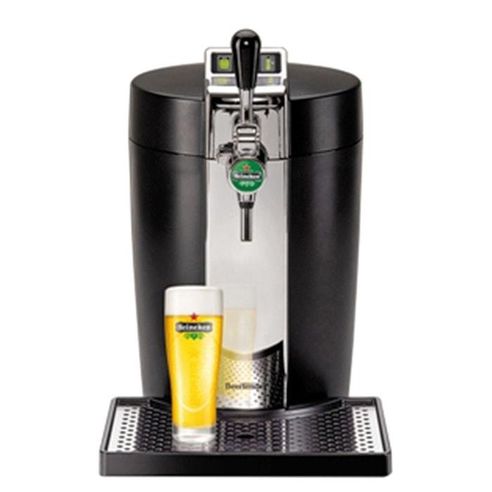 machine bi re beertender yy2932fd noir inox krups la redoute. Black Bedroom Furniture Sets. Home Design Ideas