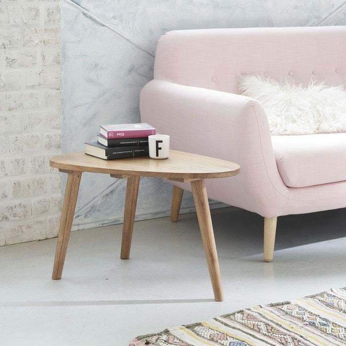 table basse en bois de mindy 62 cm oslo couleur unique. Black Bedroom Furniture Sets. Home Design Ideas