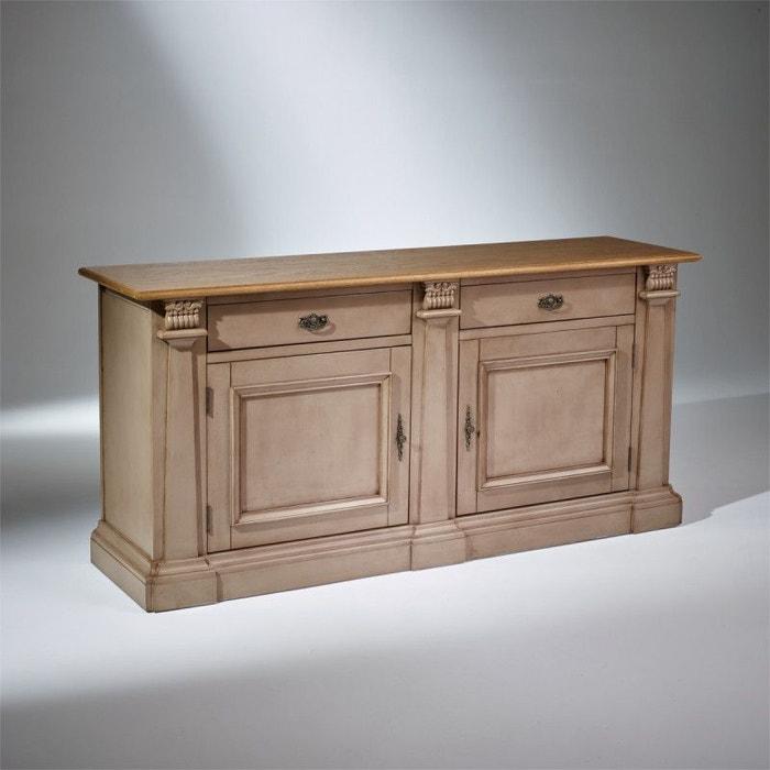 buffet plateau ch ne baptiste patine taupe patine antiquaire taupe robin des bois la redoute. Black Bedroom Furniture Sets. Home Design Ideas