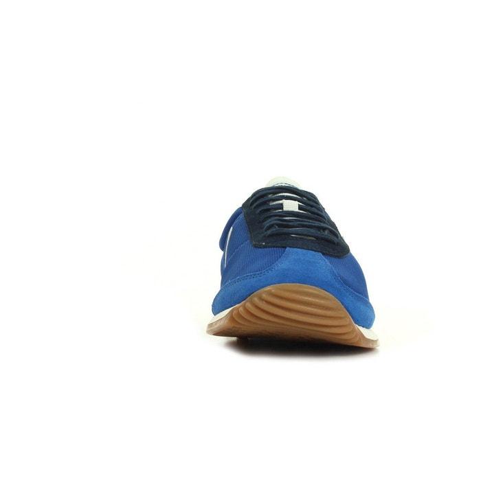 Baskets homme quartz gum bleu, blanc, rouge Le Coq Sportif
