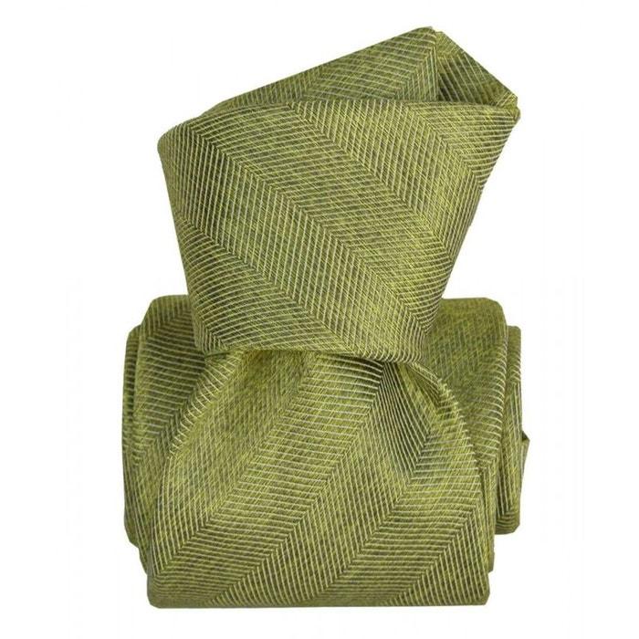 Cravate segni disegni luxe, faite main. acireale vert vert Segni Et Disegni | La Redoute