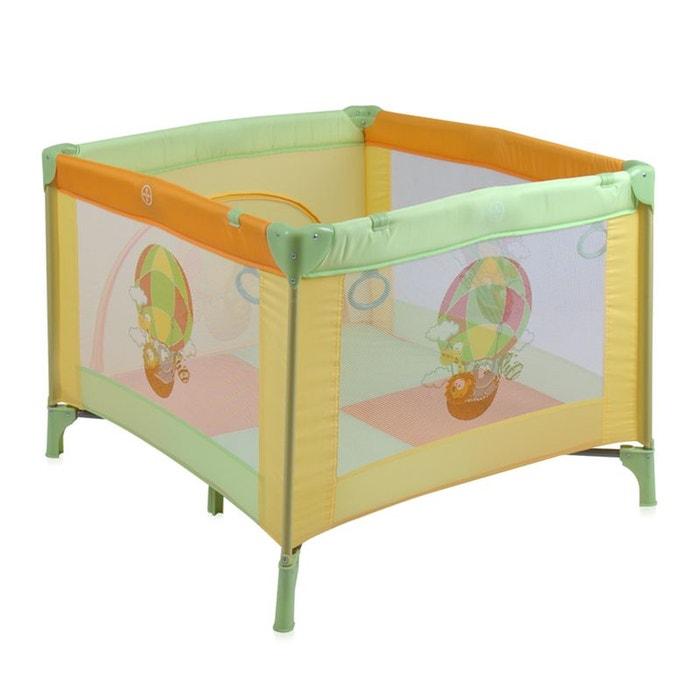 parc pliant pliable pour b b play station jaune couleur unique lorelli la redoute. Black Bedroom Furniture Sets. Home Design Ideas