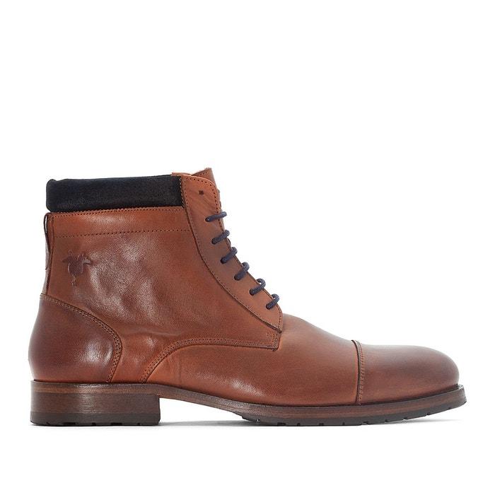 Boots dranse 45   cognac Kost   La Redoute