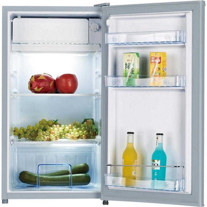 refrigerateur table top 91l california ks91rs a silver. Black Bedroom Furniture Sets. Home Design Ideas