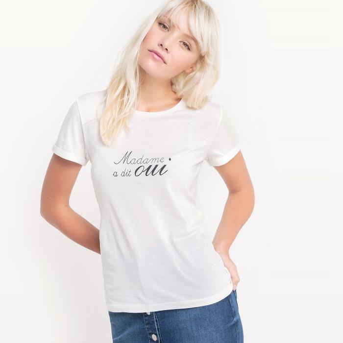 Imagen de Camiseta Madame a dit oui, algodón MADEMOISELLE R