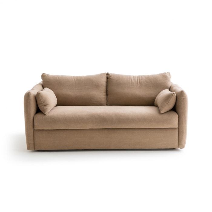 canap convertible lin pais picure am pm chanvre la redoute. Black Bedroom Furniture Sets. Home Design Ideas