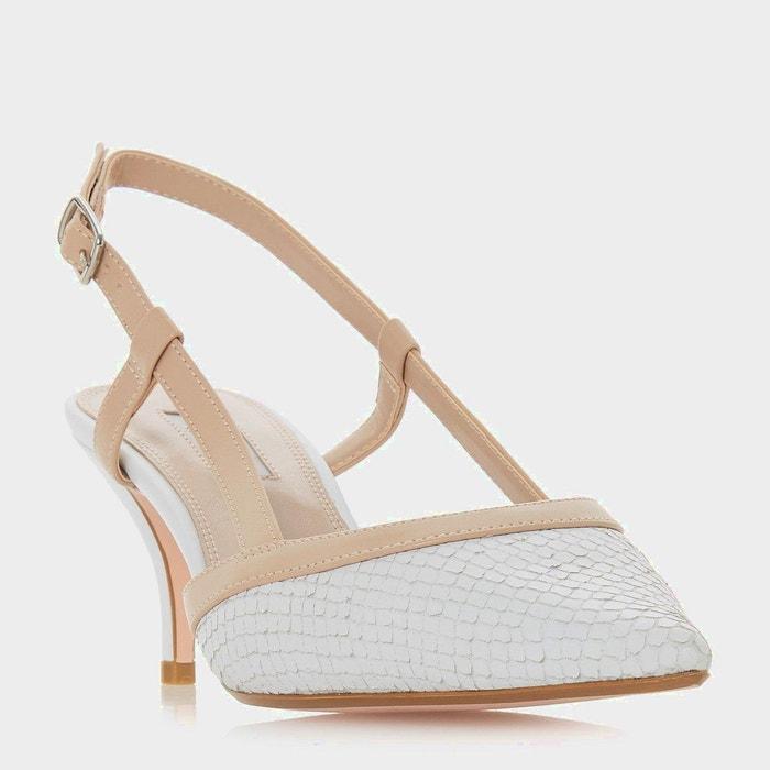 Dune Chaussures pointues à talon bobine et bride arrière - CORRA super 0NdLsa9