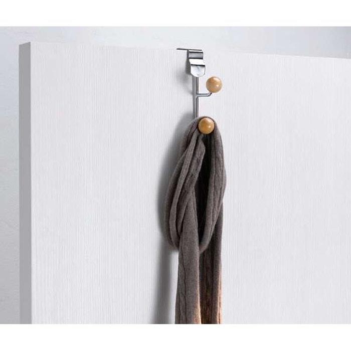 pat re porte manteau de porte dual bois clair compactor la redoute. Black Bedroom Furniture Sets. Home Design Ideas