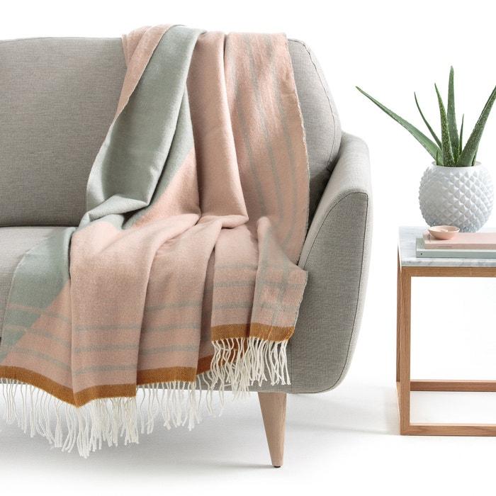 plaid harran la redoute interieurs multicolore la redoute. Black Bedroom Furniture Sets. Home Design Ideas