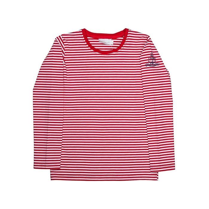 6258734331865 T-shirt manches longues bébé fille milky rouge Interdit De Me Gronder