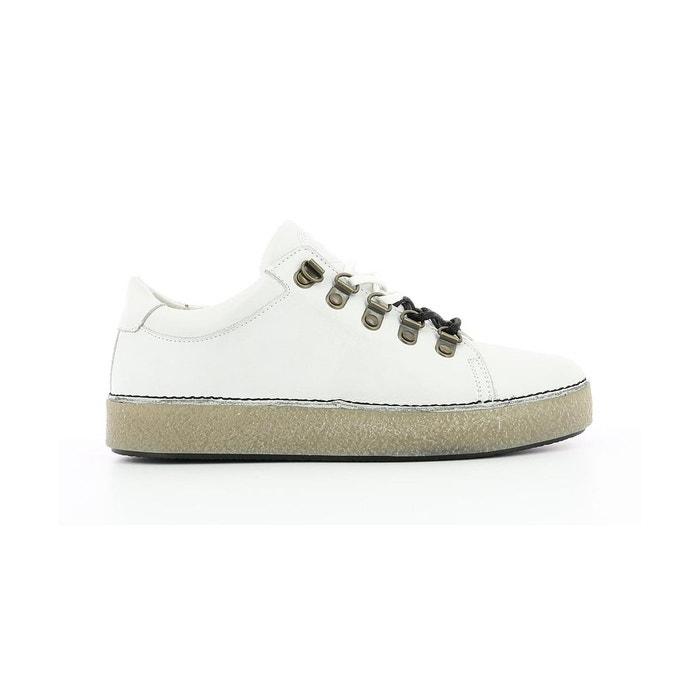 b152a3ce4dad Sneakers basse cuir femme sprite Kickers | La Redoute