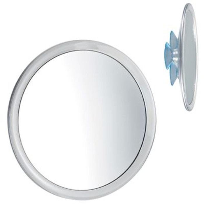 Balvi miroir de salle de bains avec ventouse for Miroir grossissant ventouse