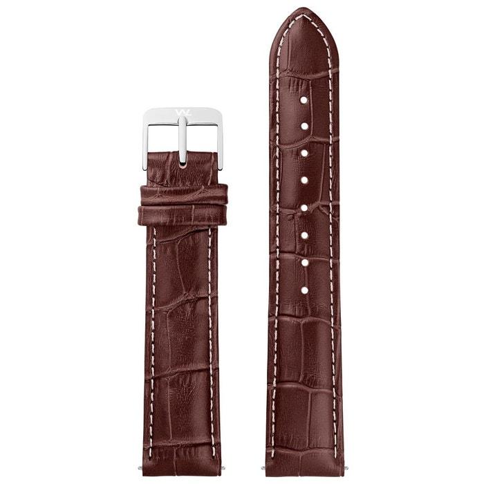 Prix Pas Cher En Ligne Bracelet cuir marron William L. 1985 | La Redoute Payer Pas Cher Avec Visa Paiement De Visa Pas Cher En Ligne 2018 Nouvelle Ligne Se Connecter R5En99u