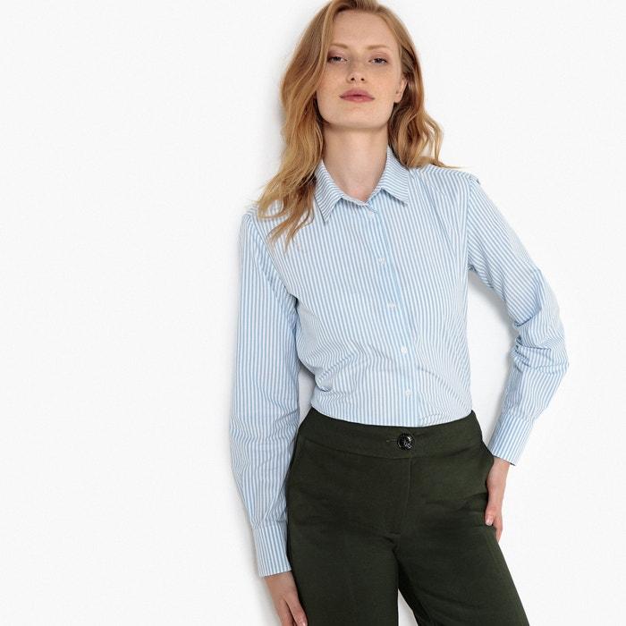 Camicia a righe, maniche lunghe  La Redoute Collections image 0