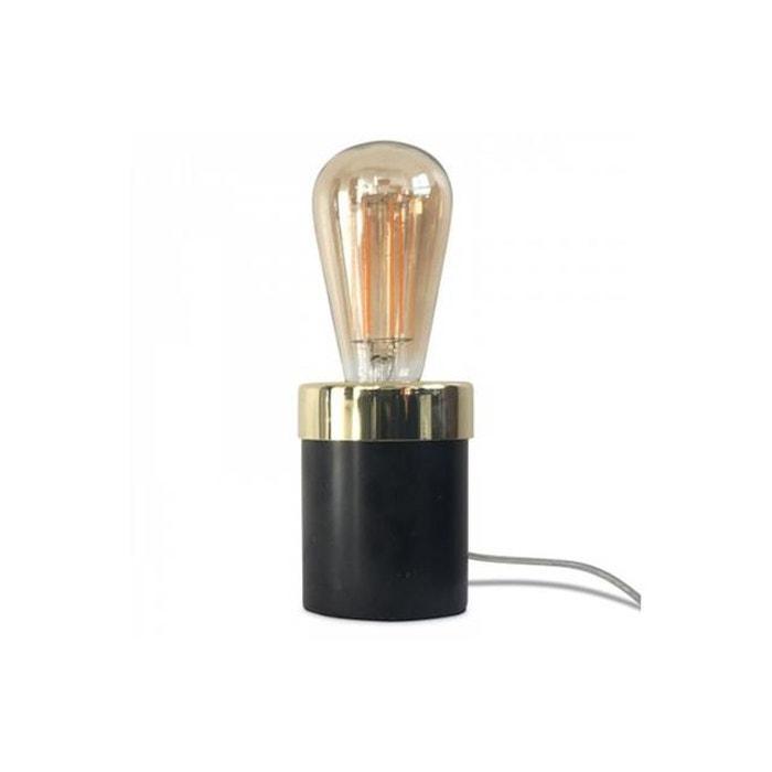 Lampe Marbre Noir Barny