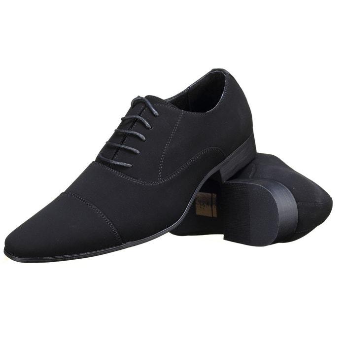 Chaussure derbie à lacets noir Galax