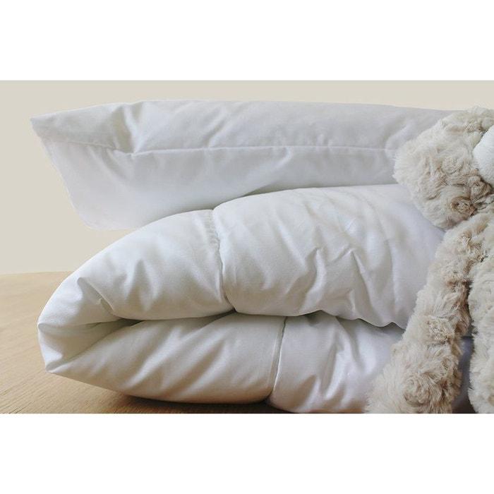 couette junior active clim ete 140x200 cm blanc kadolis la redoute. Black Bedroom Furniture Sets. Home Design Ideas