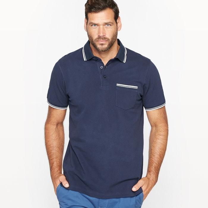 Image Polo Shirt with Breast Pocket CASTALUNA FOR MEN