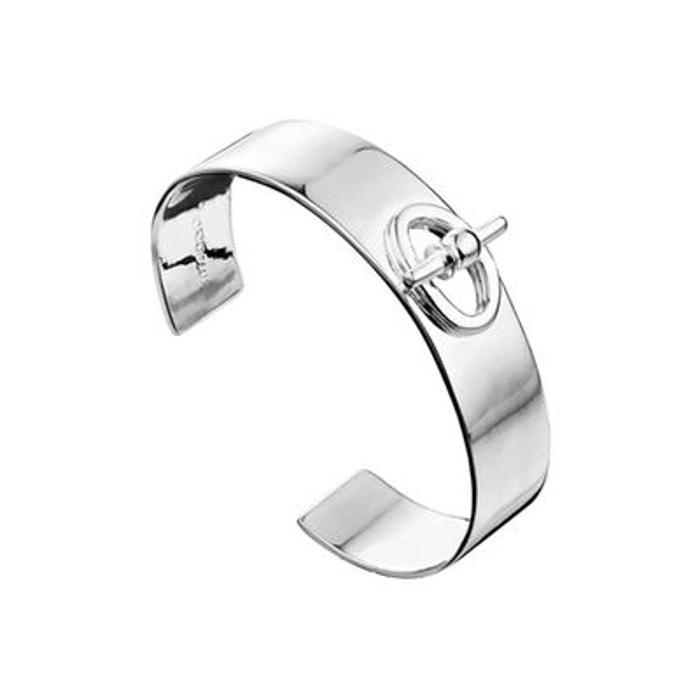 Bracelet manchette la baule en argent 925, 26.6g, ø55mm argent Clio Blue | La Redoute