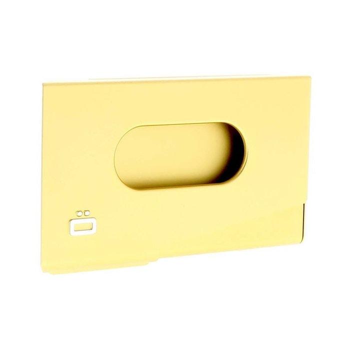 Porte Carte De Visite Alu Or Ogon Design One Touch OGON DESIGN Image