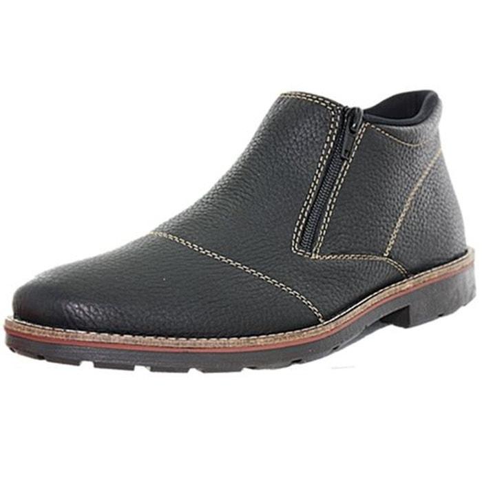c18f689f05618 Bottines   boots feutre noir Rieker   La Redoute