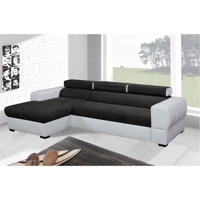 tresor canap d angle convertible gauche relaxima la redoute. Black Bedroom Furniture Sets. Home Design Ideas